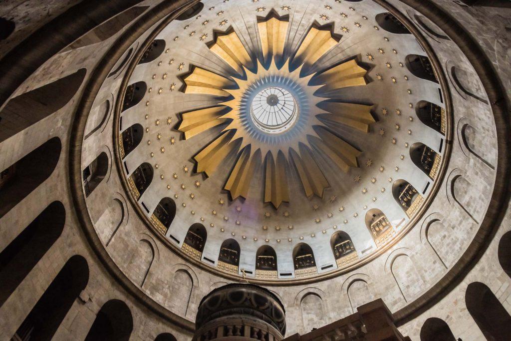 Kuppel der Grabeskirche in Jeruslalem