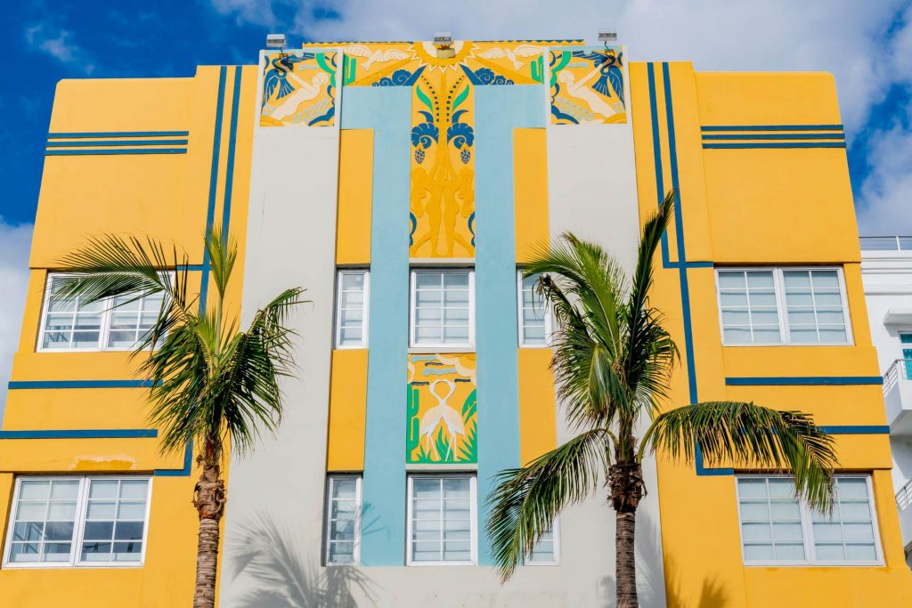 Ocean Five Hotel im Art Deco District in Miami Beach