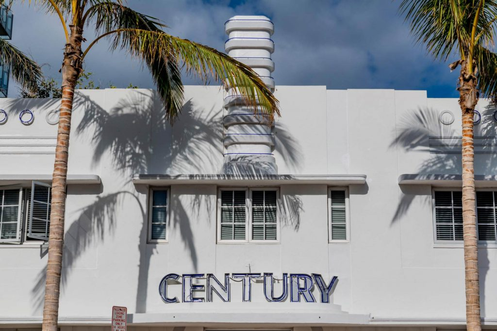 Century Hotel im Art Deco District in Miami Beach