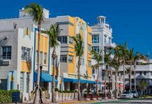 Der Art Deco District in Miami Beach