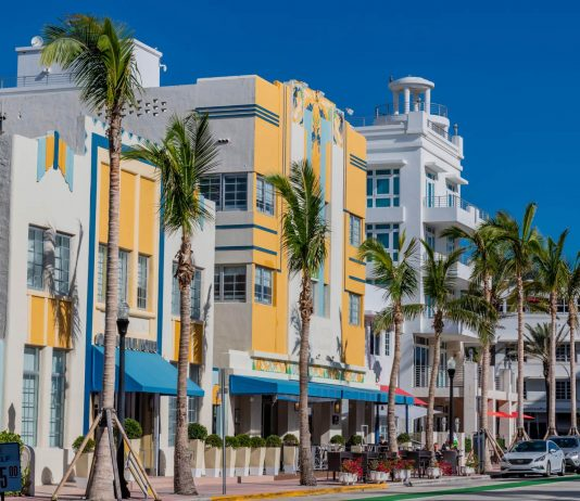 Der Art Deco District in Miami Beach