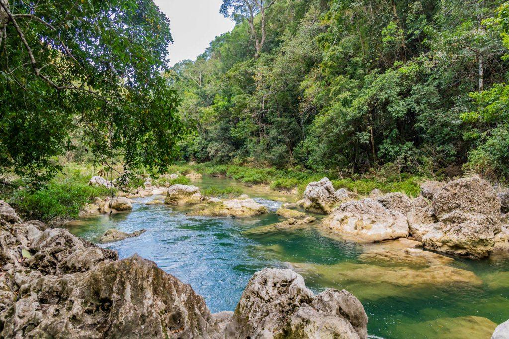 Flusslandschaft in Belize