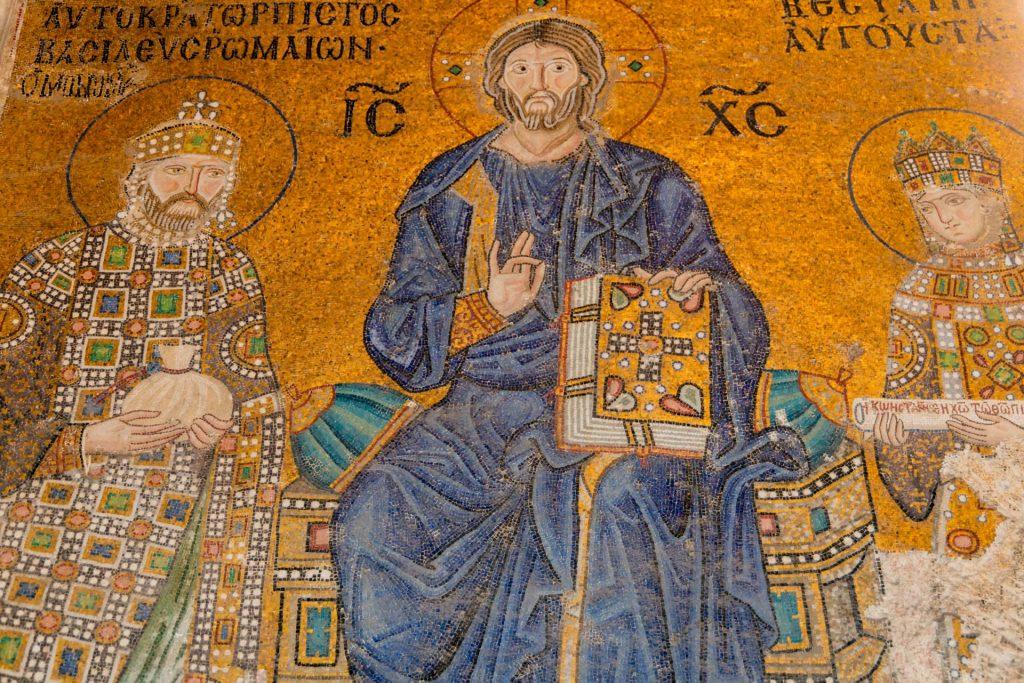 Christus Pantokrator in der Kirche der heiligen Weisheit