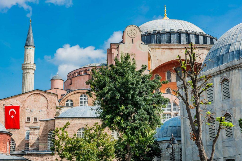 Kirche der heiligen Weisheit in Istanbul