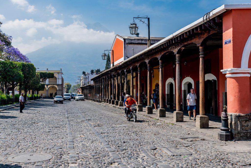 Strasse in Antigua Guatemala