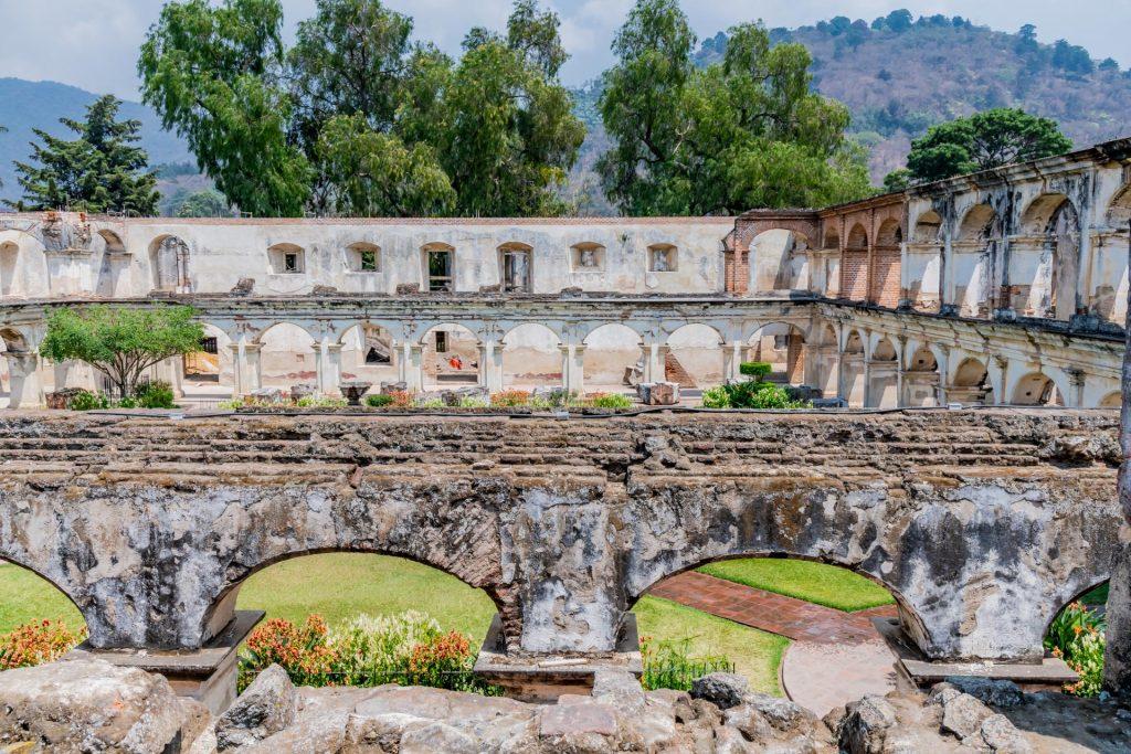 Ruinen des Klarissenklosters in Antigua