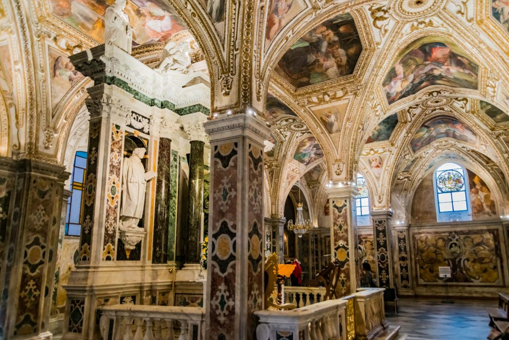 Krypta des heiligen Andreas in Amalfi