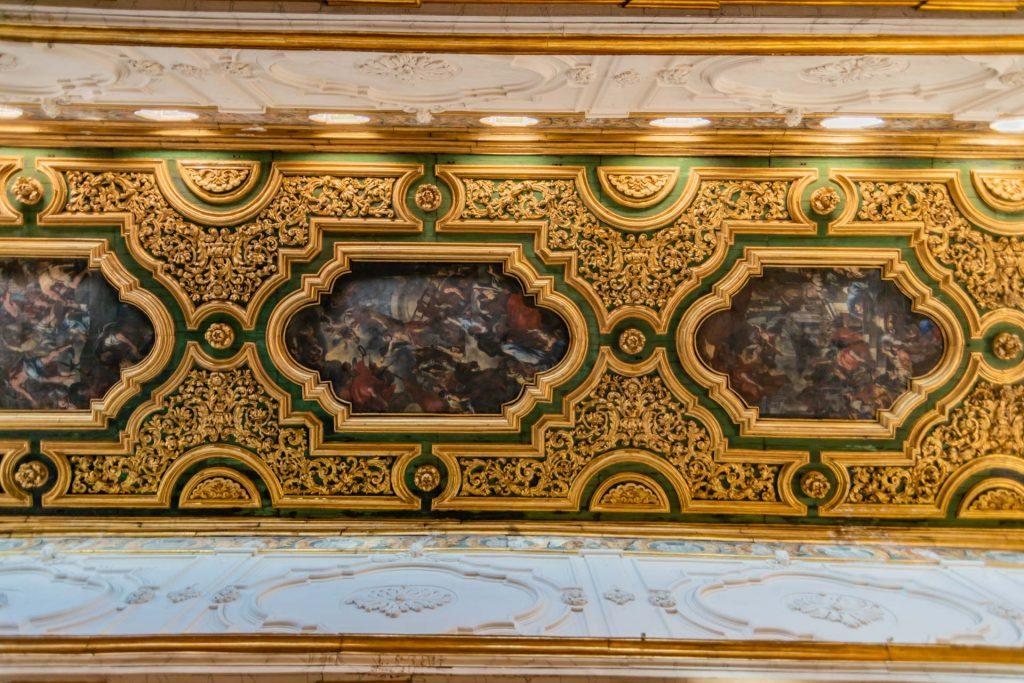 Kassettendecke im Dom von Amalfi