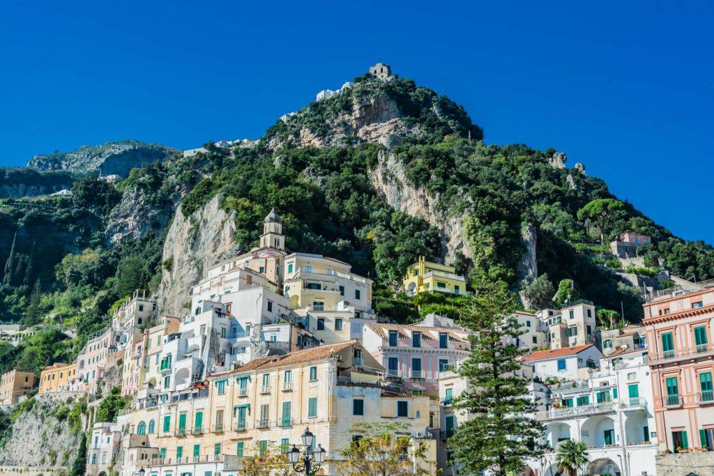 Die Stadt Amalfi