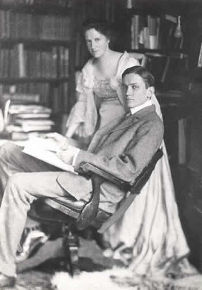 Alfreda und Hiram Bingham