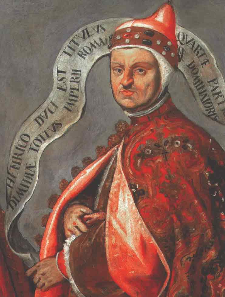 Doge Henricus Dandolo in der Hagia Sophia