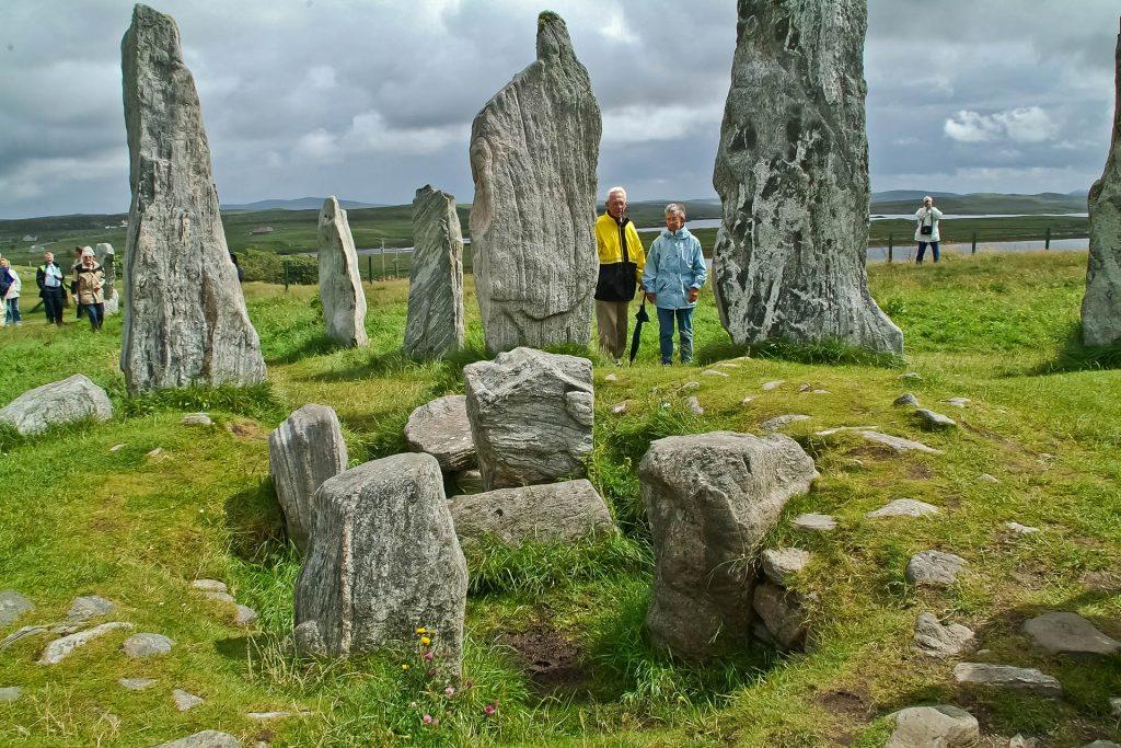 Steine im Ring of Callanish