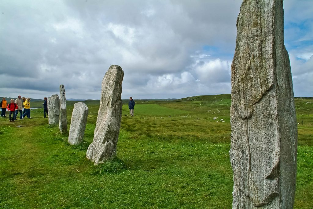 Menhire im Ring of Callanish