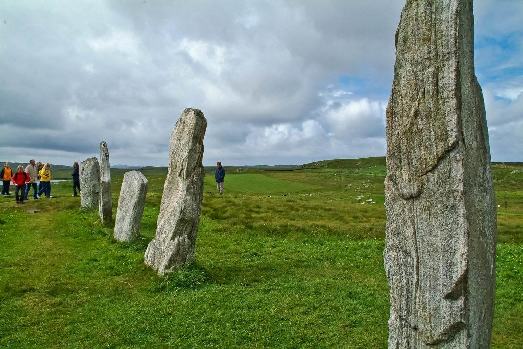 Menhire im Ring of Callanish