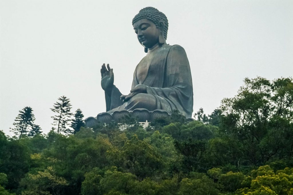 Tian Buddha auf Lantau nahe Hongkong
