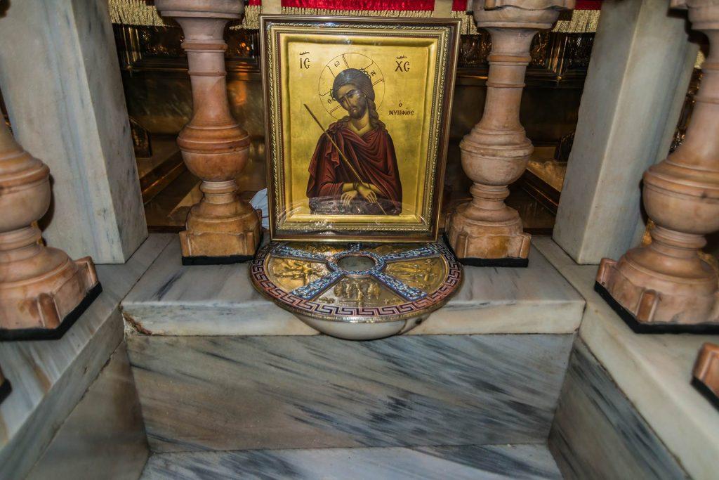 Standort des Kreuzes Christi in Jerusalem