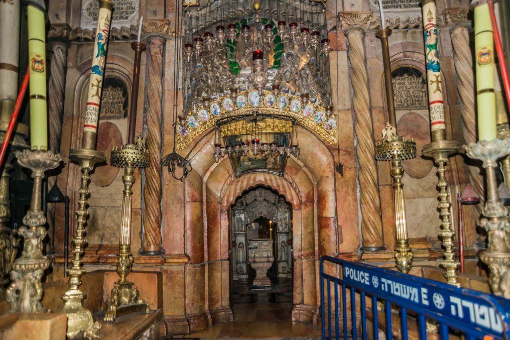 Grab von Jesus Christus in der Grabeskirche