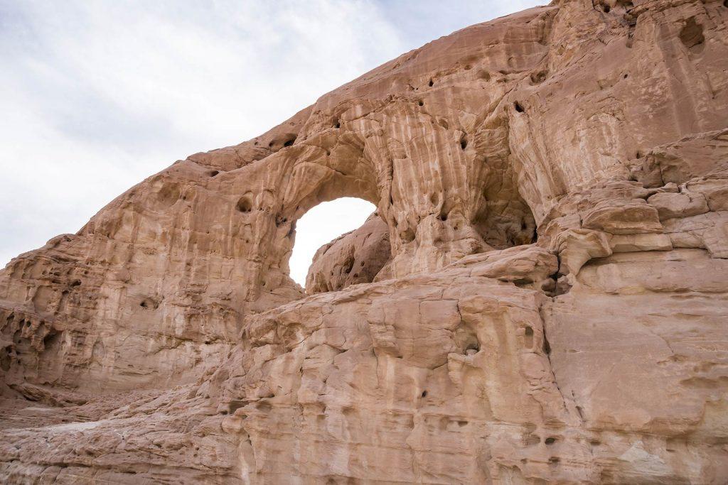Steinbogen im Timna Nationalpark