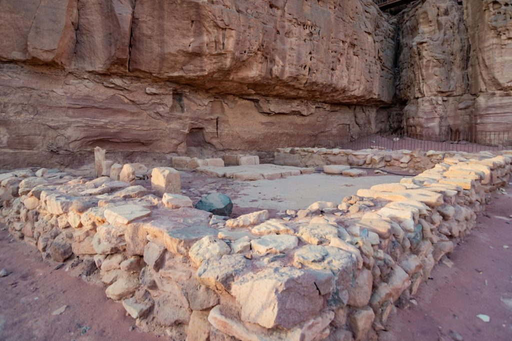 Hathor-Tempel im Timna Nationalpark
