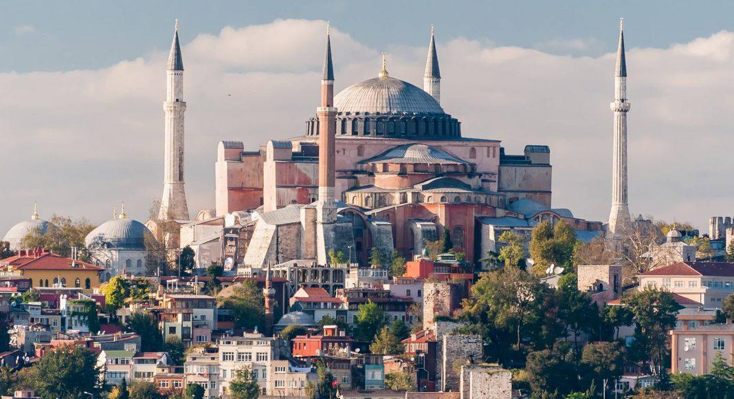PD 02 178 02391a -Die Hagia Sophia (Ayasofya Müzesi) in Istanbul