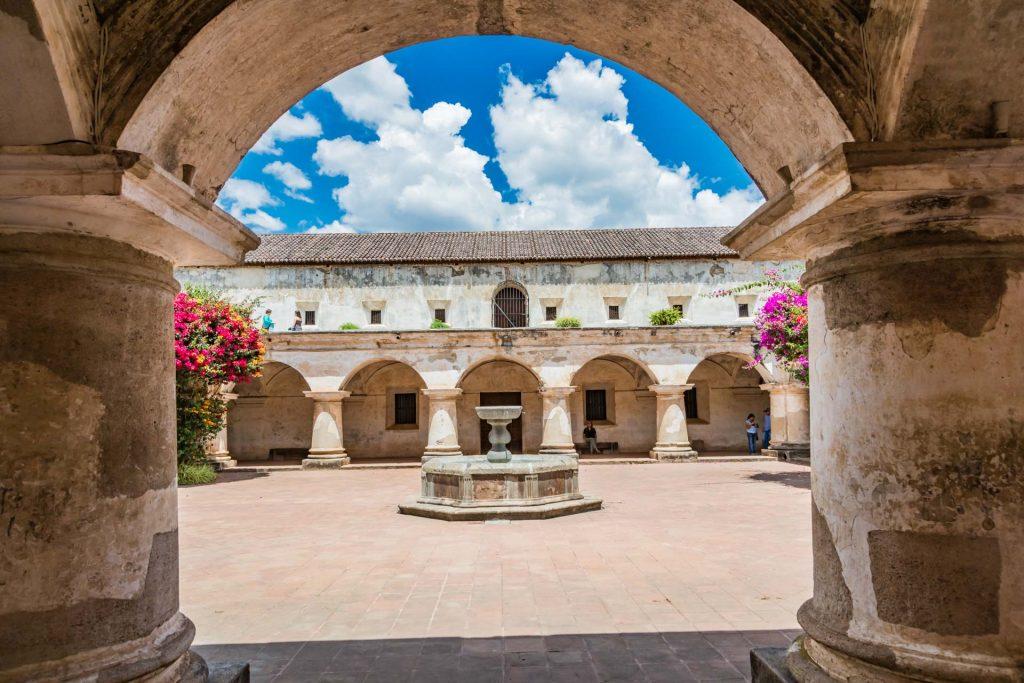 Kapuzinerkloster in Antigua Guatemala