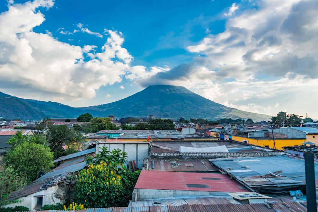 Der Vulkan Agua in Guatemala