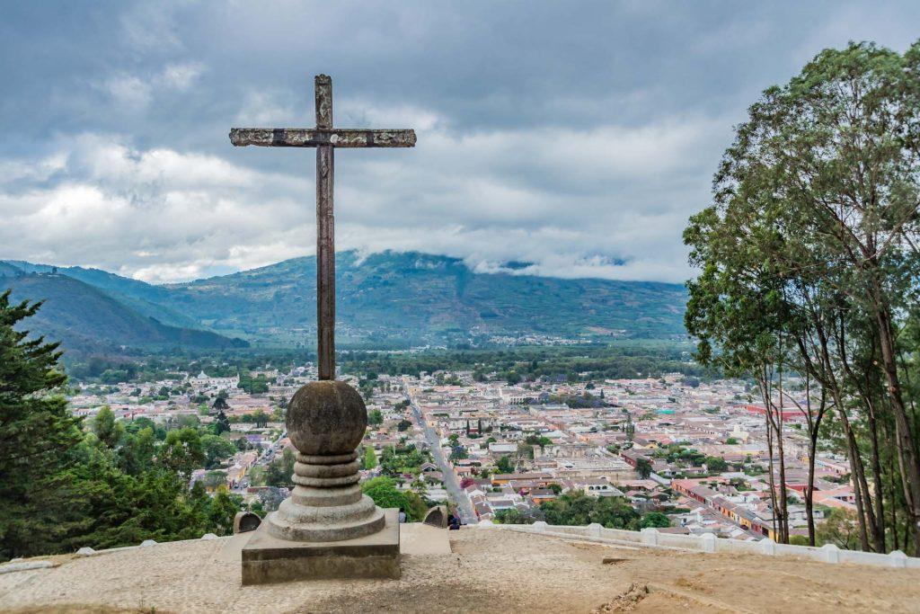 Aussicht auf Antigua Guatemala