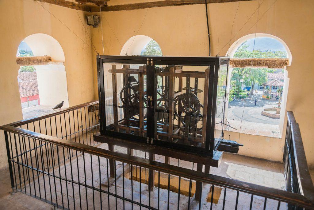 Älteste Turmuhr der Welt in Comayagua
