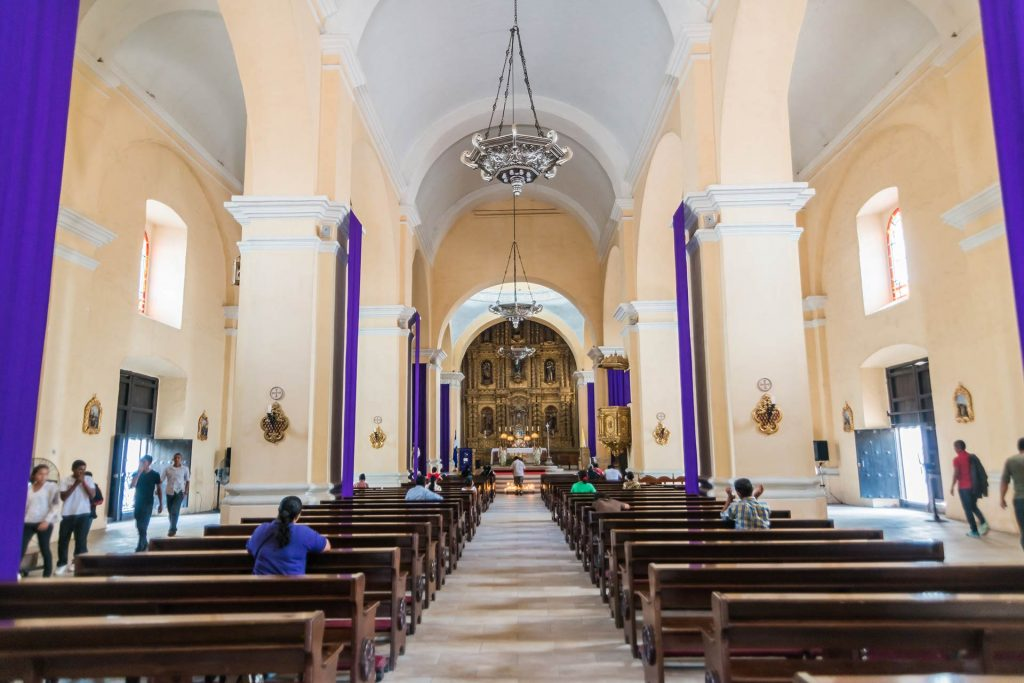 Innenraum der Kathedrale St. Michael in Comayagua