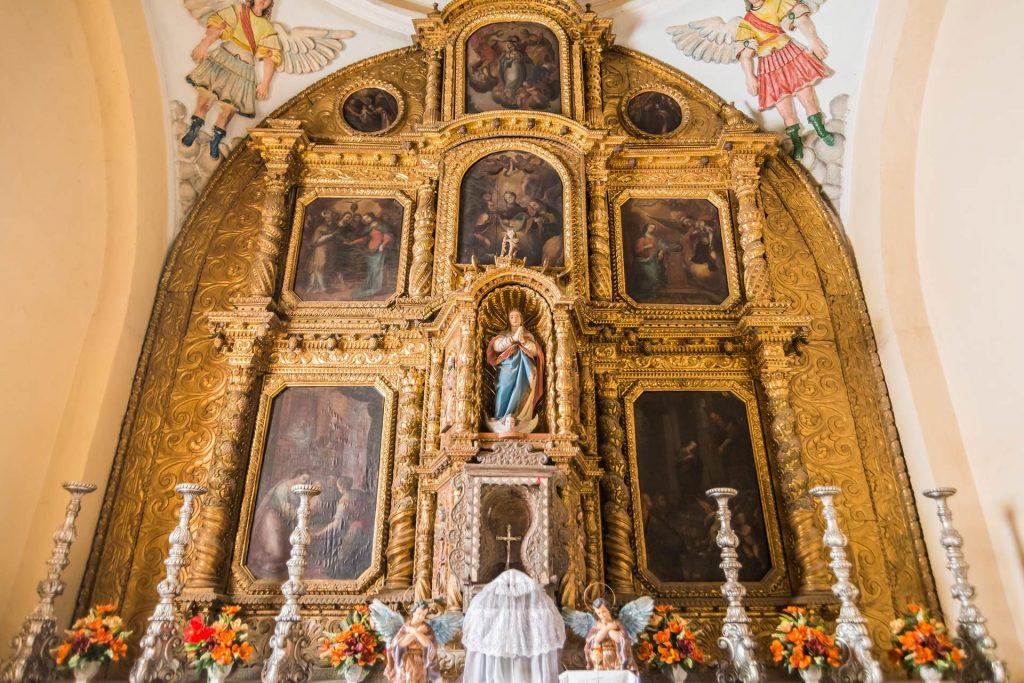 Altar in der Kathedrale von Comayagua in Honduras