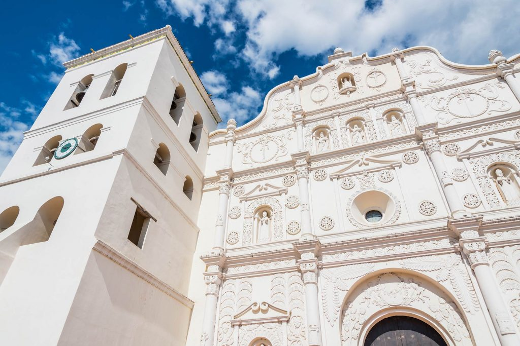 Fassade der Kathedrale in Comyayagua
