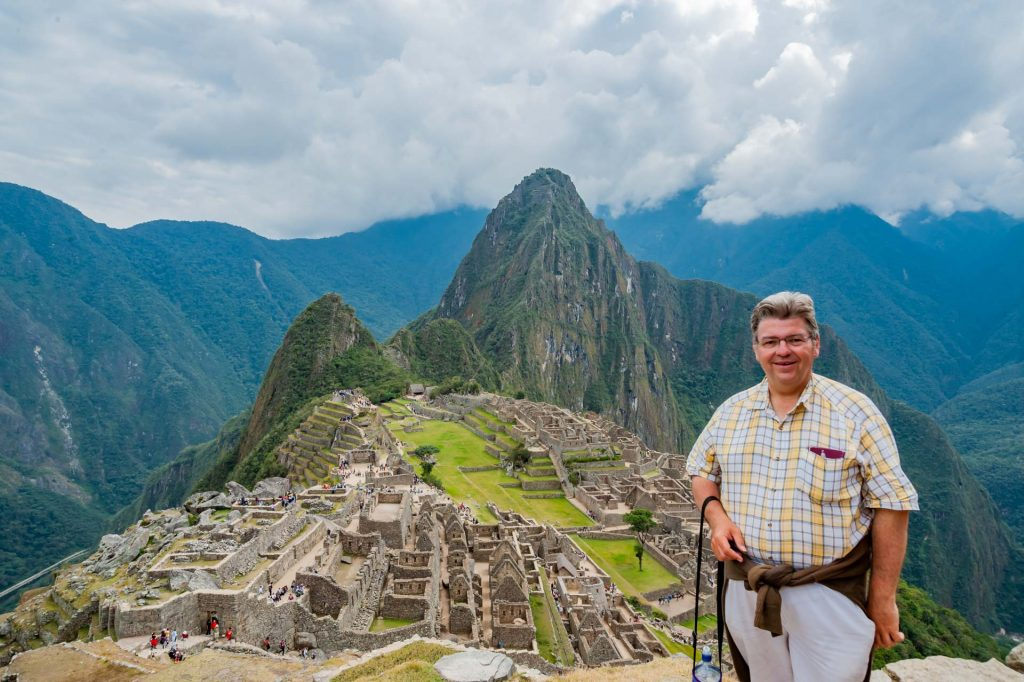 Peter Jurgilewitsch in Machu Picchu Peru