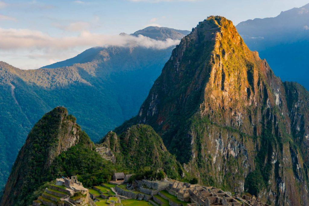 Sonnenaufgang am Huayna Picchu