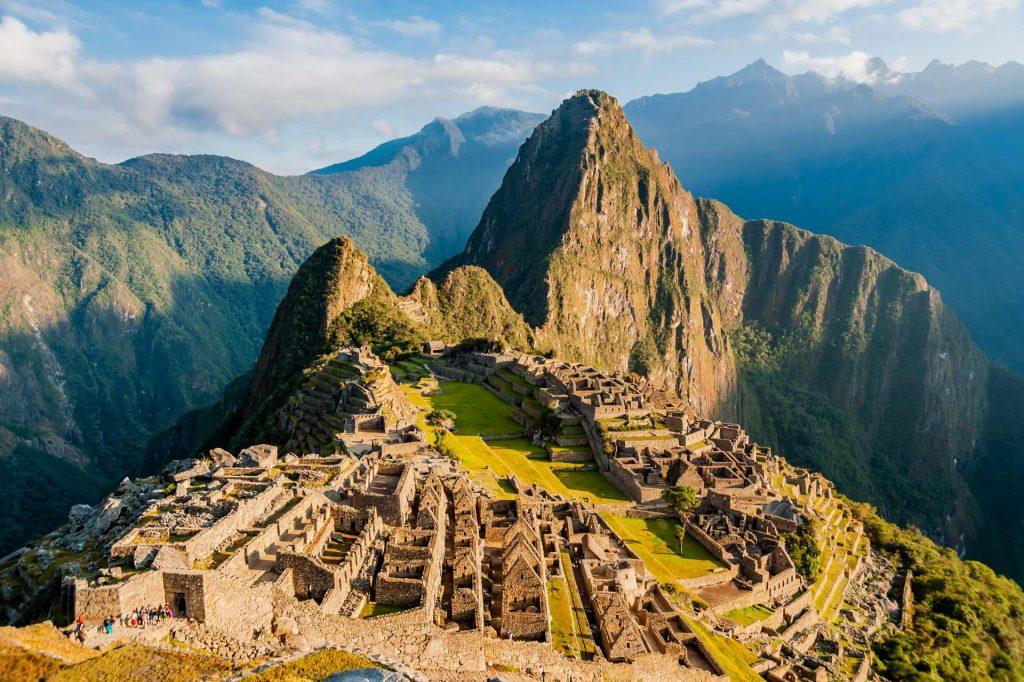 Morgenstimmung in Machu Picchu