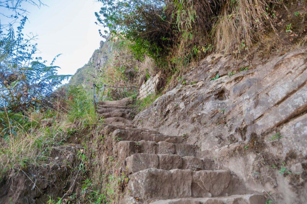 Aufstieg auf den Huayna Picchu in Peru