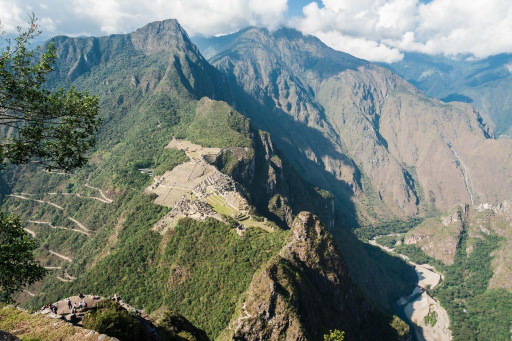 Machu Picchu vom Huayna Picchu aus gesehen