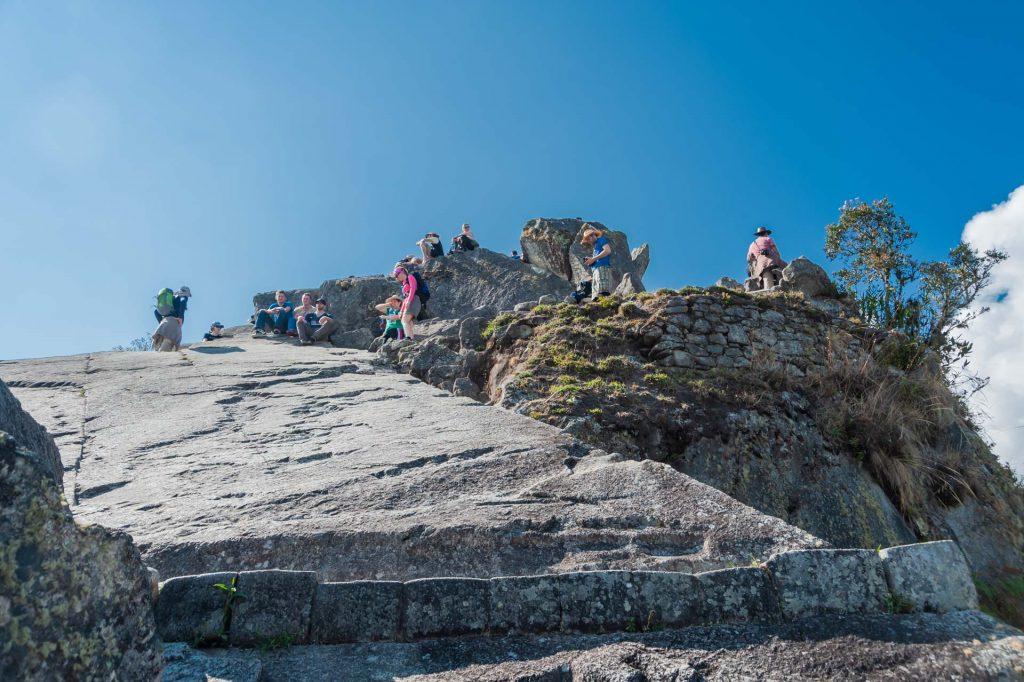 Gipfel des Huayna Picchu in Peru