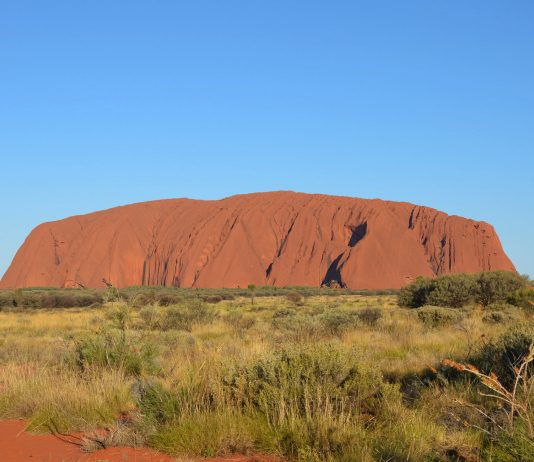 Ayers Rock am Tag