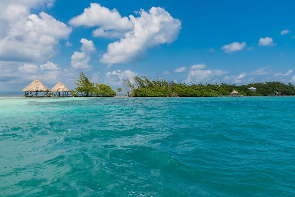 Caye im Belize Barrier Reef