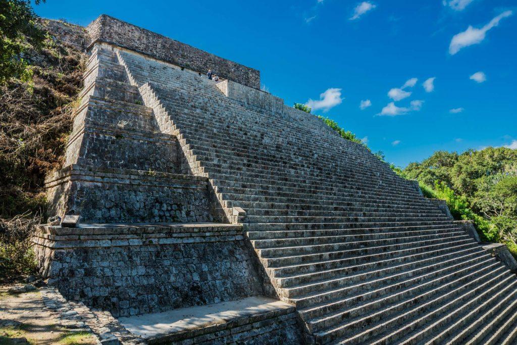 Hauptpyramide in Uxmal