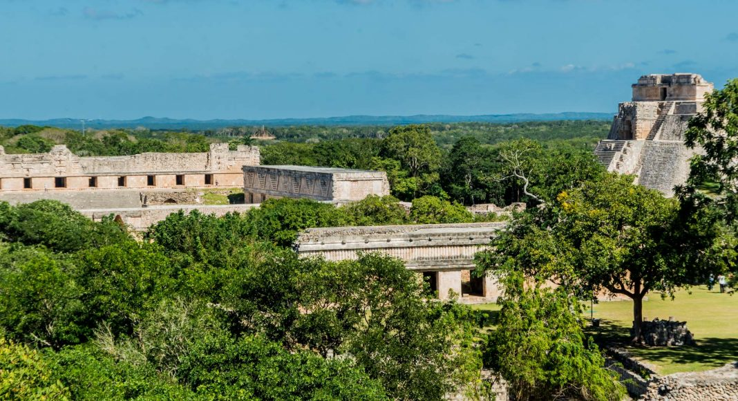 DSC 9115 2 -Uxmal - die große Maya-Stadt in Yucatan/Mexiko