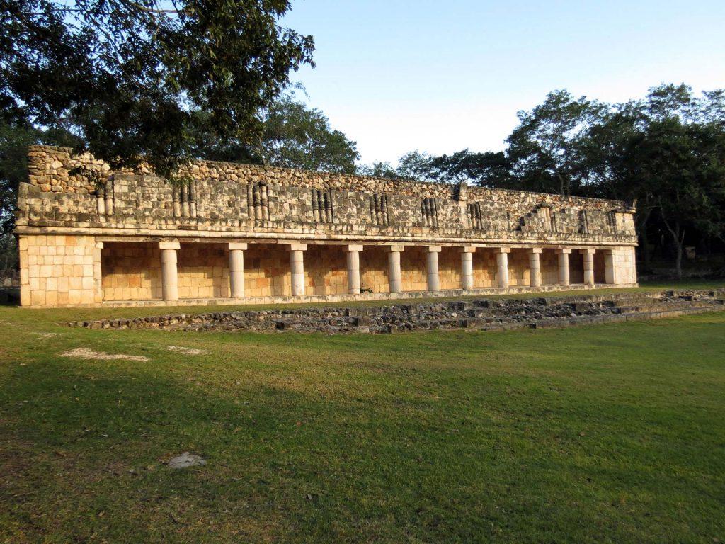 Haus des Leguan in Uxmal