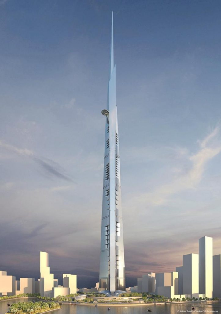 Jeddah Tower Source: Adrian Smith + Gordon GilAdrian Smith + Gordon Gill Architectures
