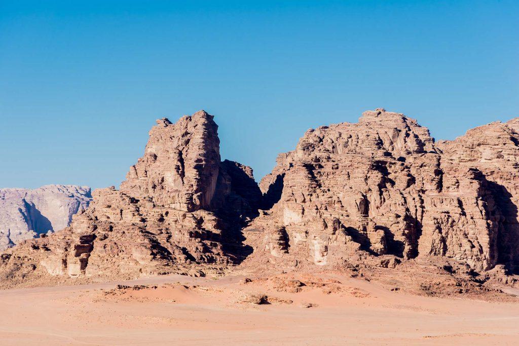Im Wadi Rum in Jordanien