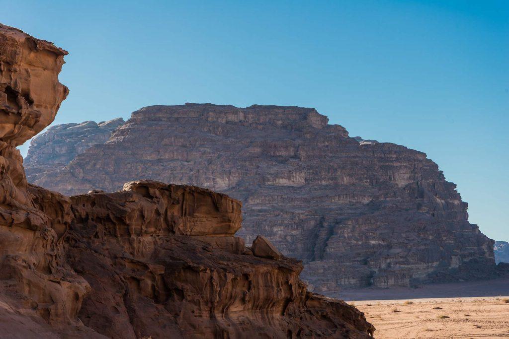 Einzigartige Perspektiven im Wadi Rum
