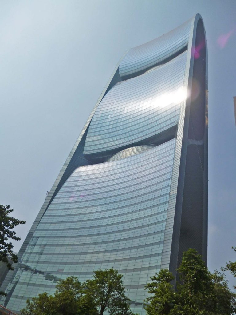 Pearl River Tower in Guangzhou (China)