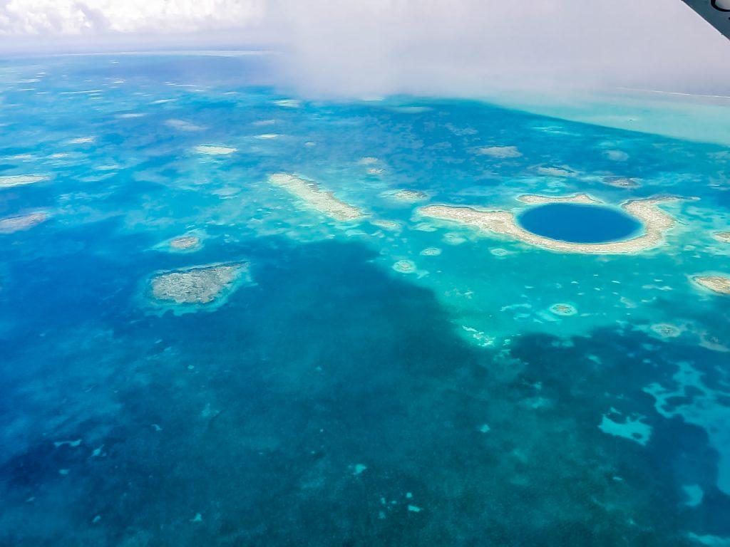 Great Blue Hole in Belize