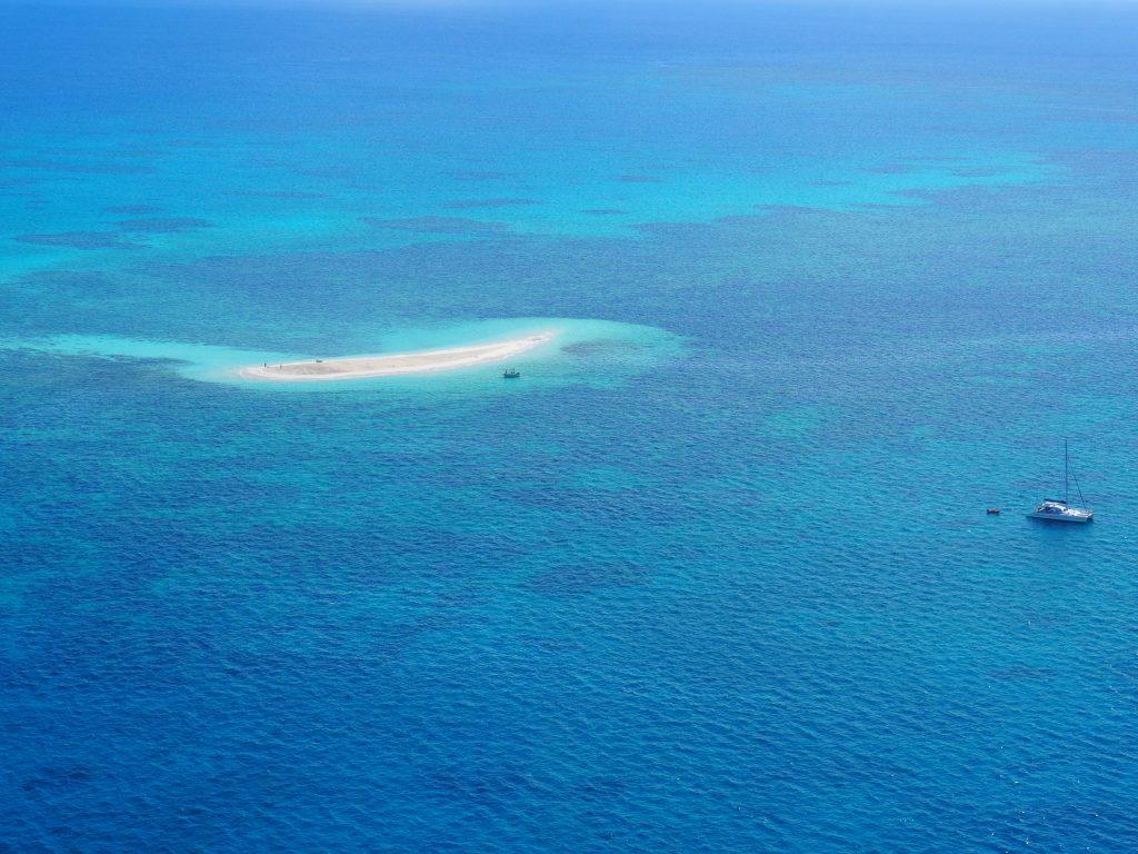 Sandbank im Belize Barrier Reef
