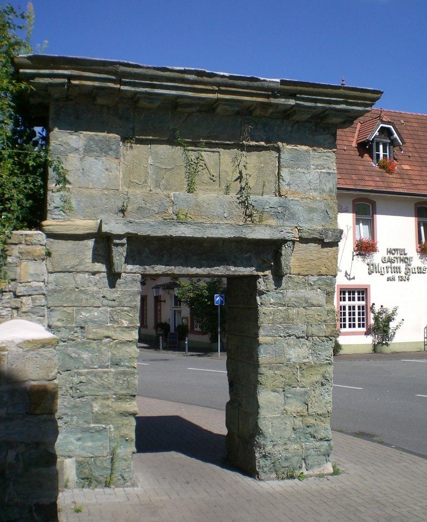 Jakobitor mit Pilgrimhaus