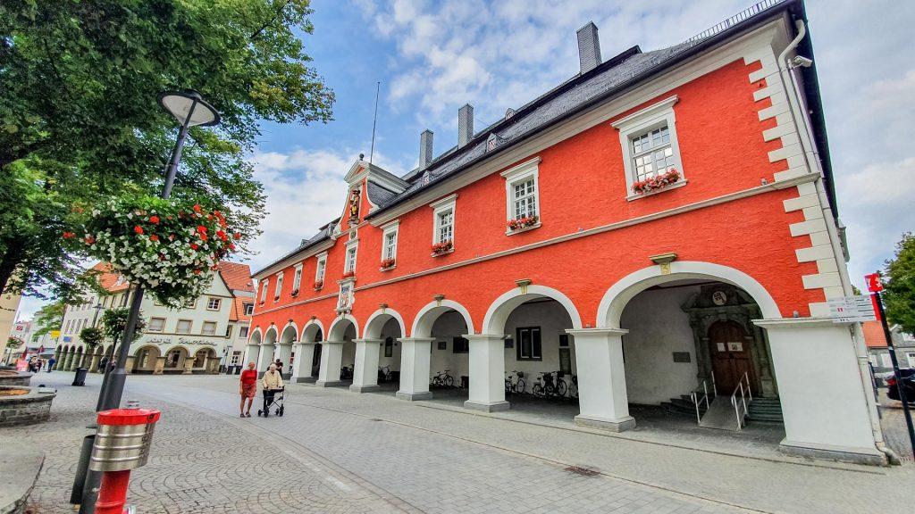 Barockes Rathaus in Soest